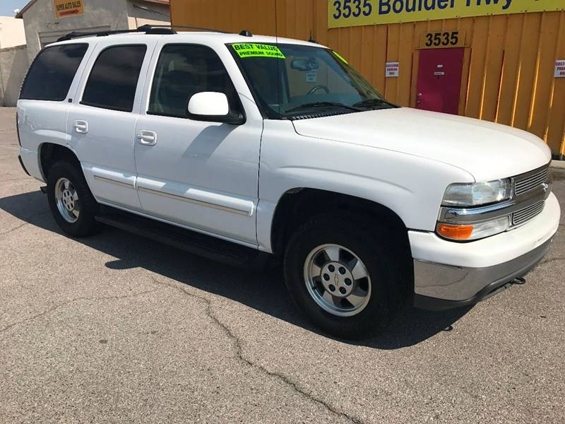 2004 Chevrolet Tahoe for sale at Super Auto Sales in Las Vegas NV