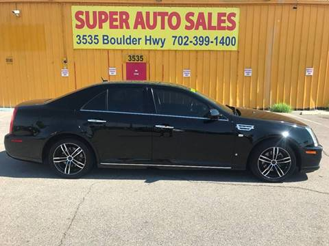 2008 Cadillac STS for sale at Super Auto Sales in Las Vegas NV