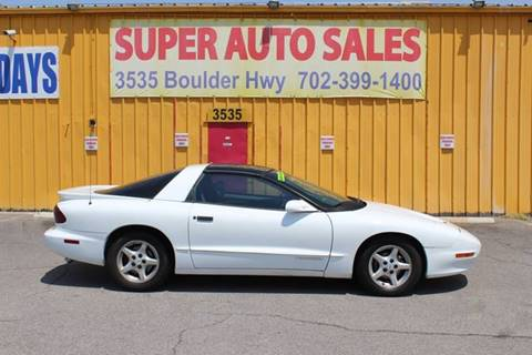 1997 Pontiac Firebird for sale in Las Vegas, NV