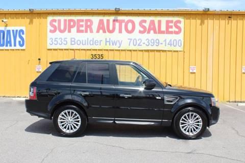 Range Rover Las Vegas >> Land Rover Range Rover For Sale In Las Vegas Nv Super Auto Sales