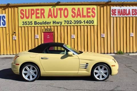 2006 Chrysler Crossfire for sale in Las Vegas, NV
