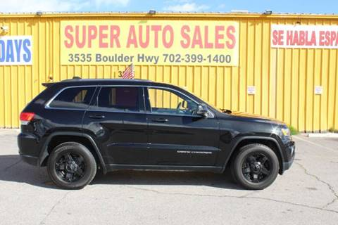 2014 Jeep Grand Cherokee for sale in Las Vegas, NV