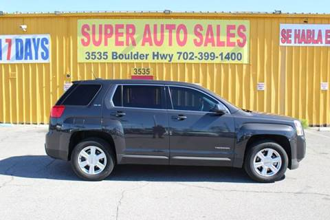 2015 GMC Terrain for sale in Las Vegas, NV