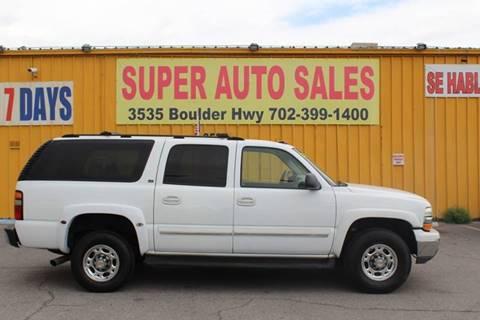 Chevrolet Suburban For Sale In Las Vegas Nv Super Auto Sales