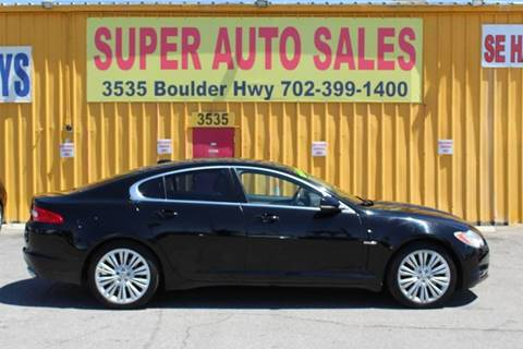 2011 Jaguar XF for sale in Las Vegas, NV