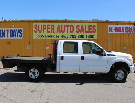 2011 Ford F-250 Super Duty for sale in Las Vegas, NV