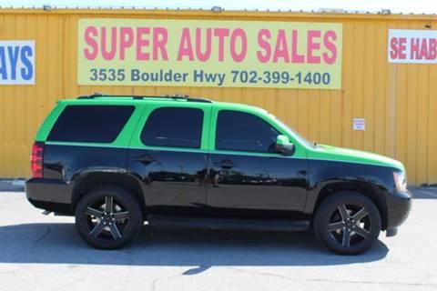 Chevrolet Tahoe For Sale In Las Vegas Nv Super Auto Sales