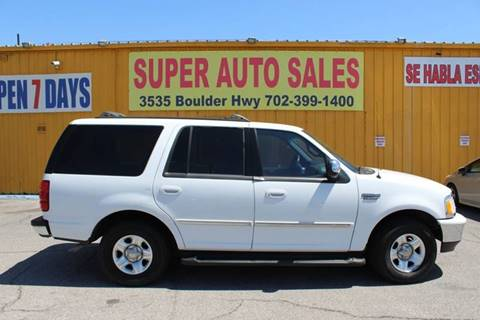 1998 Ford Expedition for sale in Las Vegas, NV