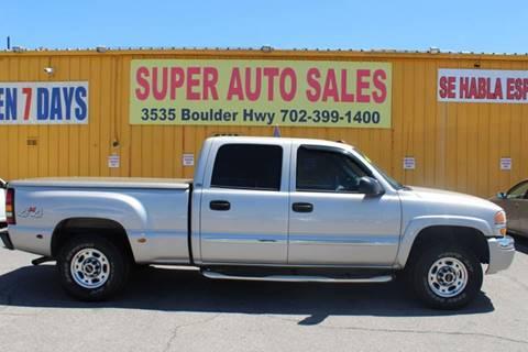 2005 GMC Sierra 1500HD for sale in Las Vegas, NV