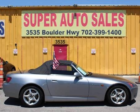 2001 Honda S2000 for sale in Las Vegas, NV