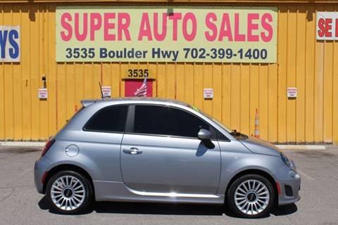 Fiat Las Vegas >> Fiat 500 For Sale In Las Vegas Nv Super Auto Sales