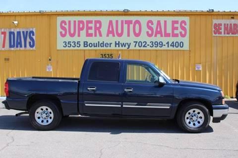 Chevrolet Las Vegas >> Chevrolet Silverado 1500 For Sale In Las Vegas Nv Super
