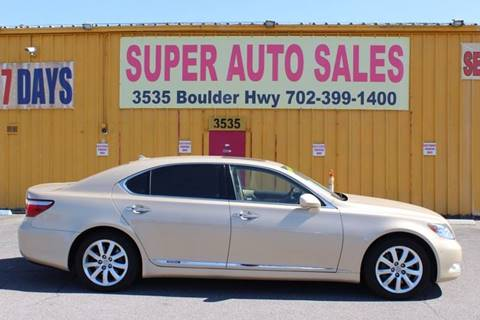 2008 Lexus LS 600h L for sale in Las Vegas, NV