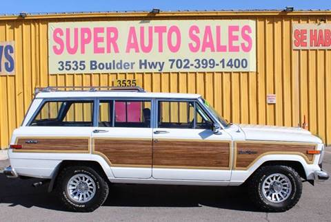1989 Jeep Grand Wagoneer for sale in Las Vegas, NV