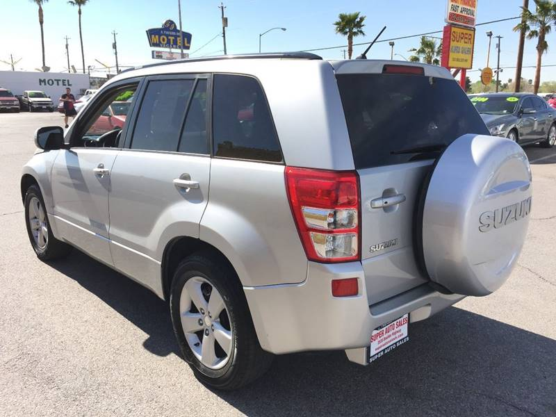 2009 Suzuki Grand Vitara for sale at Super Auto Sales in Las Vegas NV