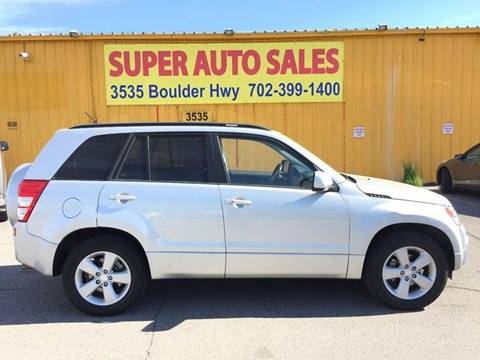 2009 Suzuki Grand Vitara for sale in Las Vegas, NV