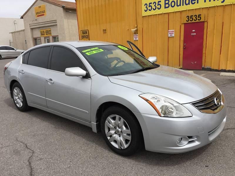2012 Nissan Altima for sale at Super Auto Sales in Las Vegas NV