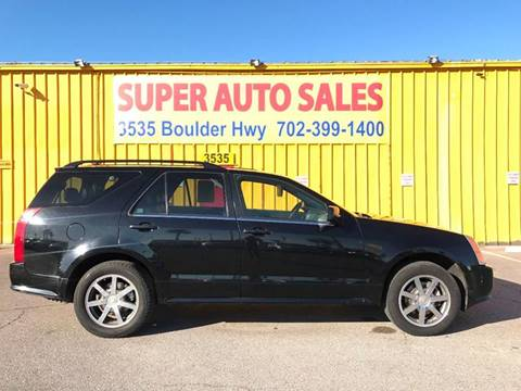 2004 Cadillac SRX for sale at Super Auto Sales in Las Vegas NV