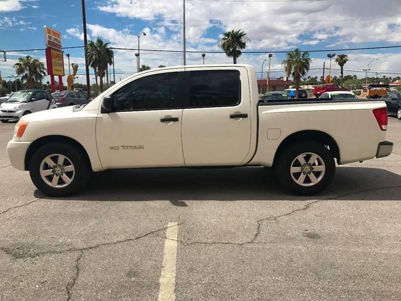 2008 Nissan Titan for sale at Super Auto Sales in Las Vegas NV
