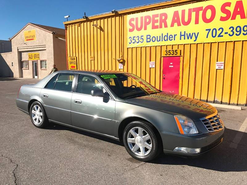 2007 Cadillac DTS for sale at Super Auto Sales in Las Vegas NV