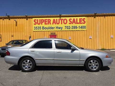 2001 Mazda 626 for sale in Las Vegas, NV