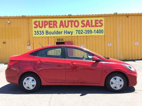 2014 Hyundai Accent for sale at Super Auto Sales in Las Vegas NV