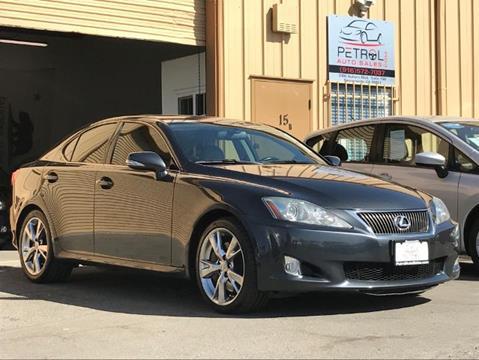 2009 Lexus IS 350 for sale in Sacramento CA