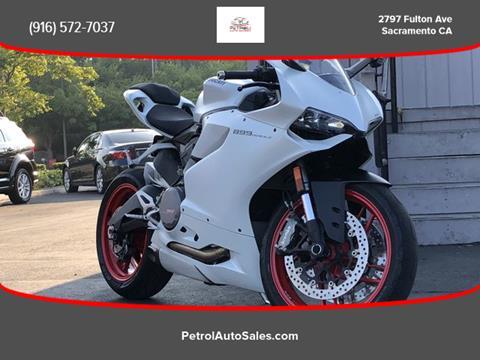2014 Ducati SUPERBIKE 899 PANIGALE for sale in Sacramento, CA