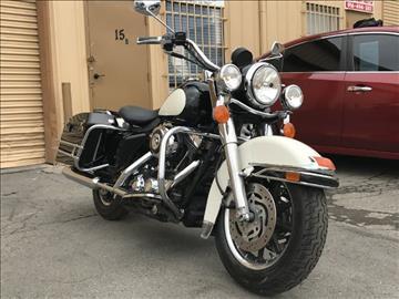 2007 Harley-Davidson FLHP Police Road King for sale in Sacramento, CA