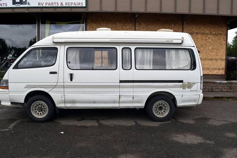 1991 Toyota Hiace 4x4 Diesel Camper Van Grants Pass Or Portland