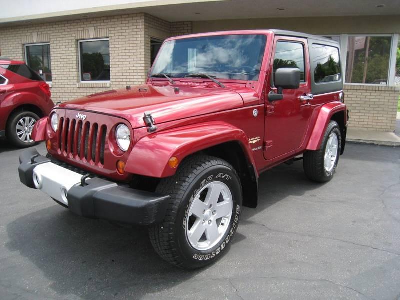 2011 Jeep Wrangler Sahara In Louisville Ky Dixie Car Sales