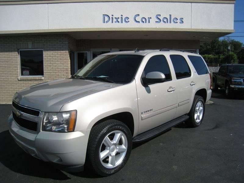 2007 Chevrolet Tahoe Ltz In Louisville Ky Dixie Car Sales