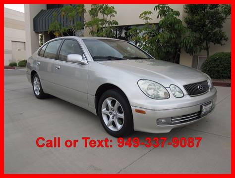 2004 Lexus GS 300 for sale in Corona, CA