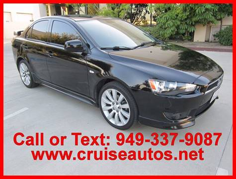 2008 Mitsubishi Lancer for sale in Corona, CA