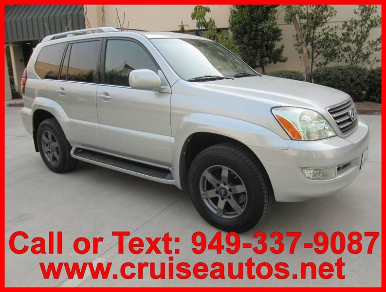 2004 Lexus GX 470 For Sale At Cruise Autos In Corona CA