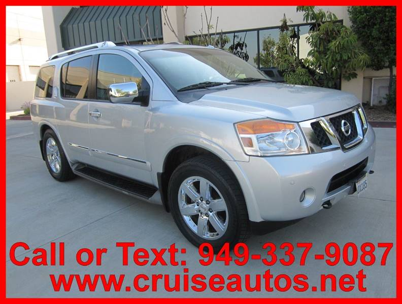 2010 Nissan Armada For Sale At Cruise Autos In Corona CA