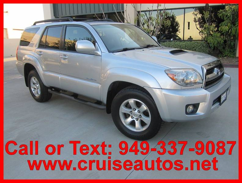 2007 Toyota 4Runner For Sale At Cruise Autos In Corona CA