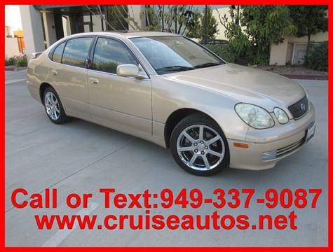 2003 Lexus GS 430 for sale in Corona, CA
