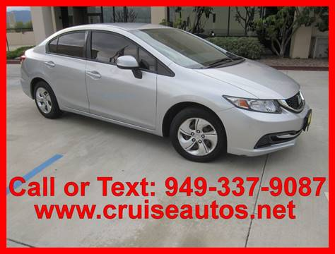 2014 Honda Civic for sale in Corona, CA