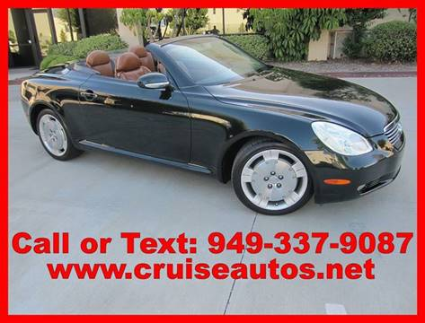 2002 Lexus SC 430 for sale in Corona, CA