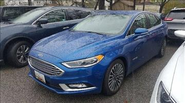 2017 Ford Fusion Hybrid for sale in Toms River, NJ