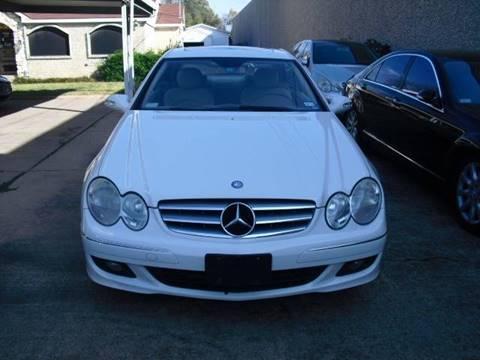 2007 Mercedes Benz CLK For Sale In Dallas, TX