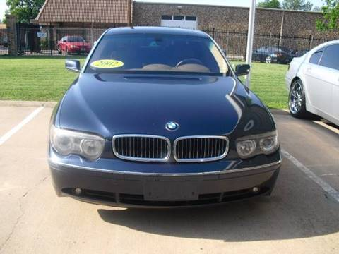 2002 BMW 7 Series for sale in Dallas, TX