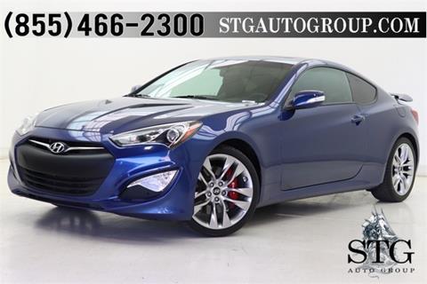 2016 Hyundai Genesis Coupe for sale in Montclair, CA