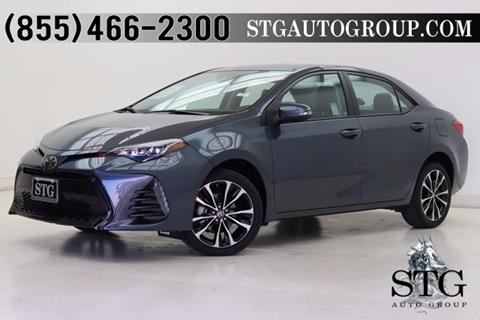 2017 Toyota Corolla for sale in Montclair, CA