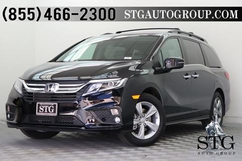 2018 Honda Odyssey for sale in Montclair, CA
