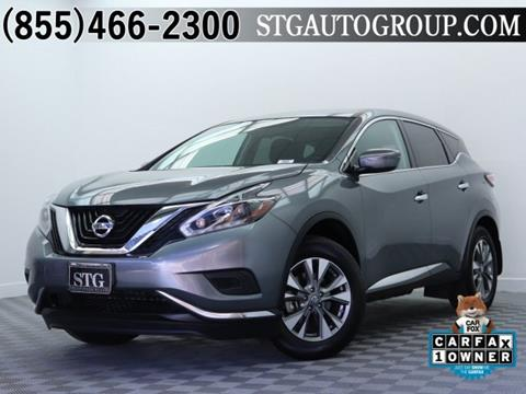 2018 Nissan Murano for sale in Montclair, CA