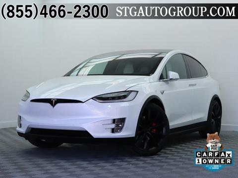 2017 Tesla Model X for sale in Montclair, CA