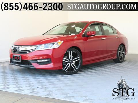 2016 Honda Accord for sale in Montclair, CA