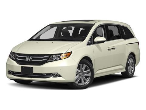 2017 Honda Odyssey for sale in Montclair, CA